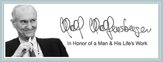 Wolf Wolfensberger - In honor of a Man & His Life's Work